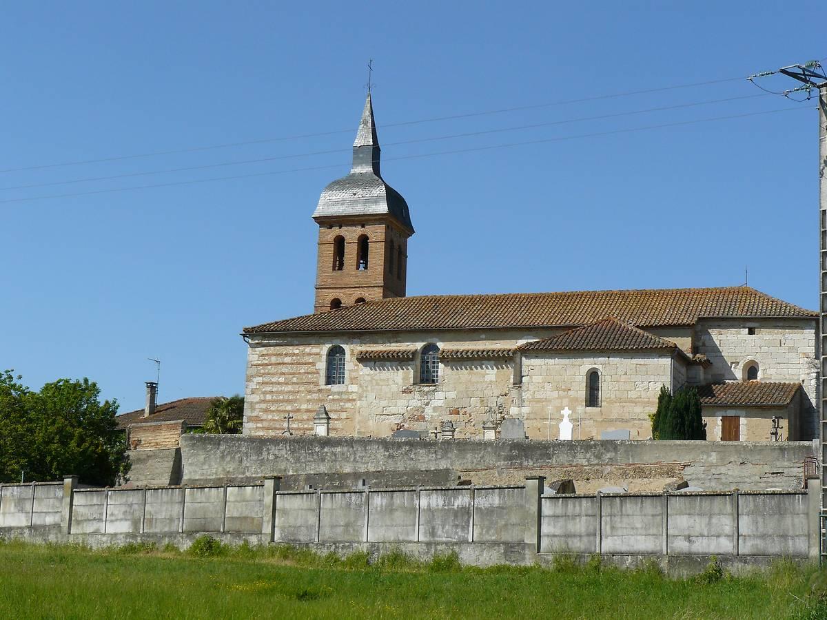 Eglise des Mariniers à Saint-Sixte