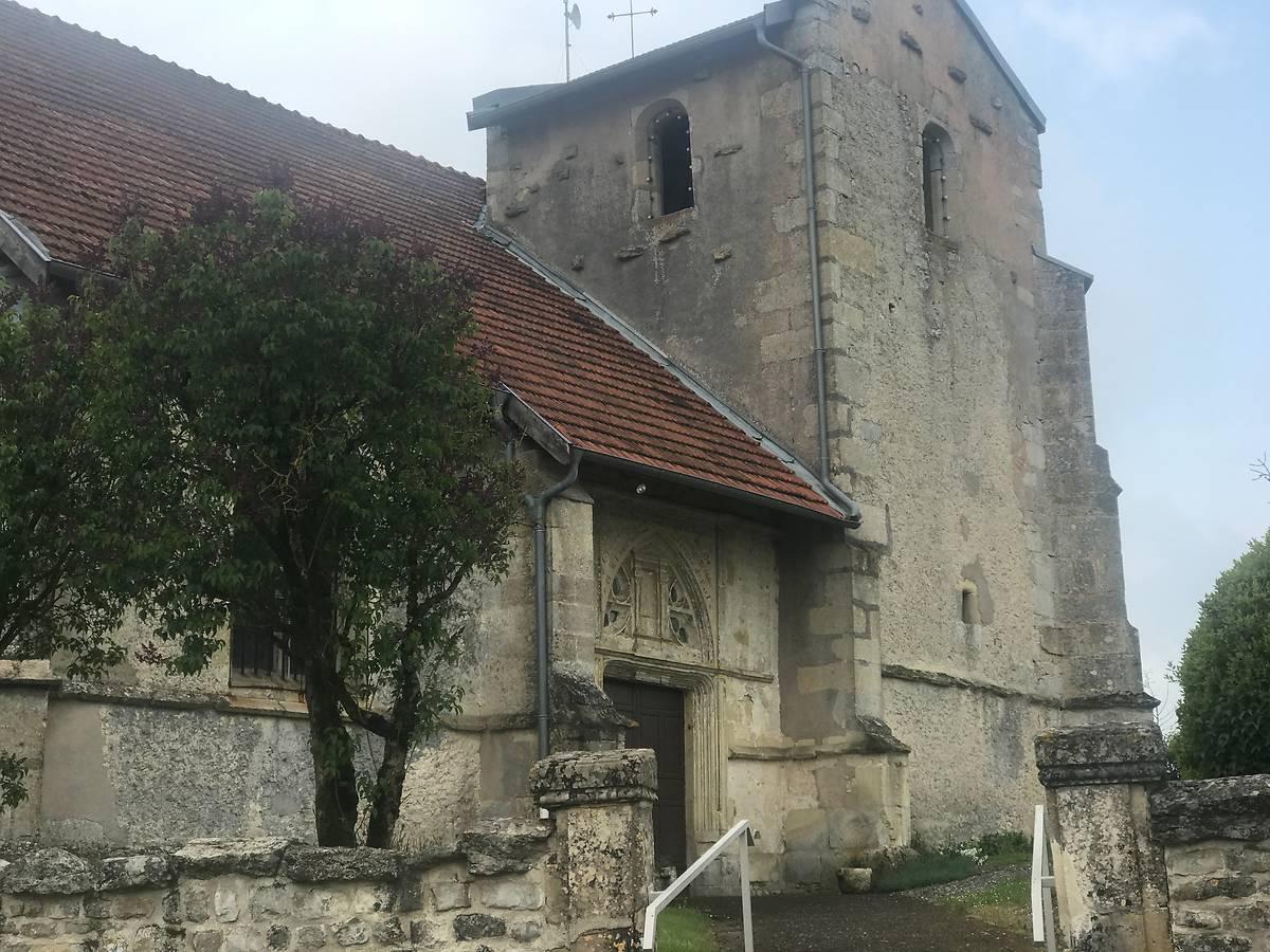 Eglise Saint Mansuy d'Erize la Brûlée