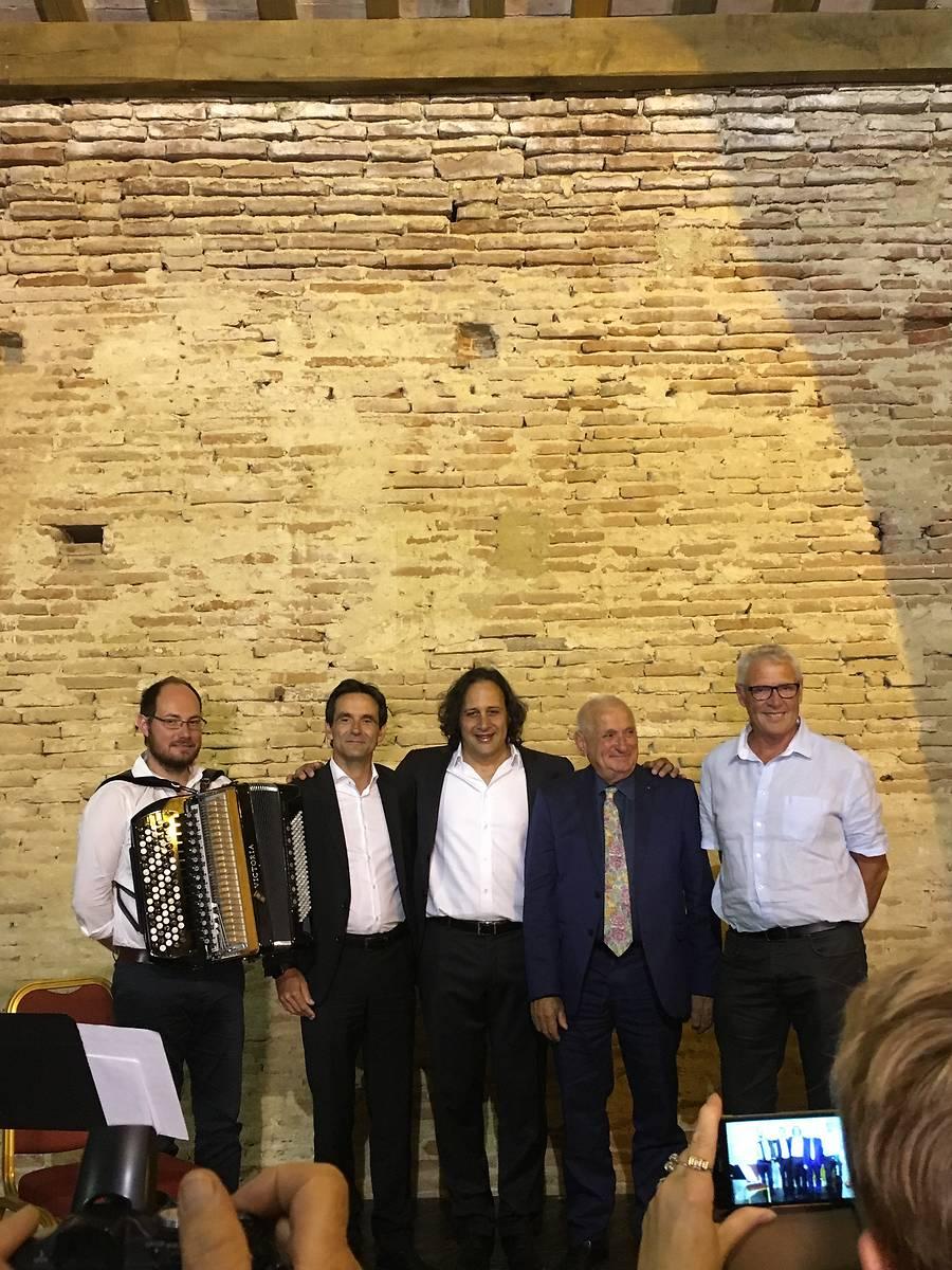 Concert d'Omar Hasan - Soirée de lancement de la souscription pour la restauration du Modèle hydraulique du château de Bonrepos-Riquet