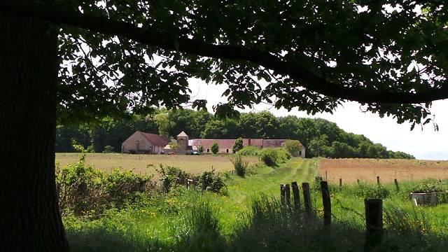 La Grange de Beauvais et son ancien jardin