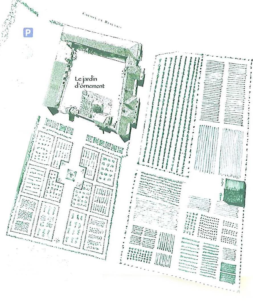 ANCIEN JARDIN DE LA GRANGE DE BEAUVAIS A VENOUSE