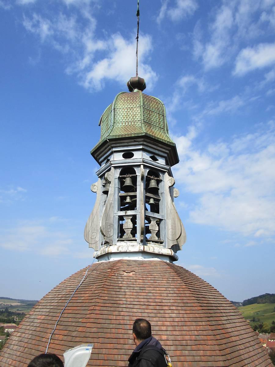 le carillon de l'église d'ARBOIS