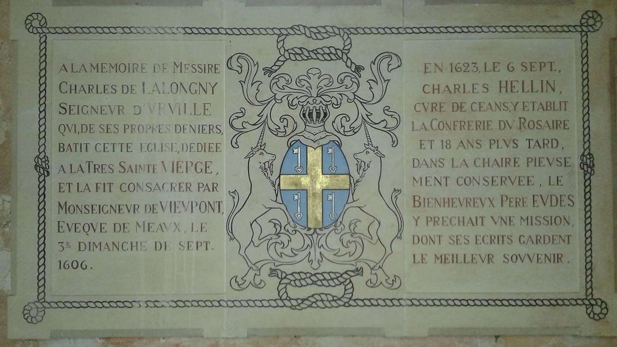 EGLISE NOTRE DAME D'URVILLE