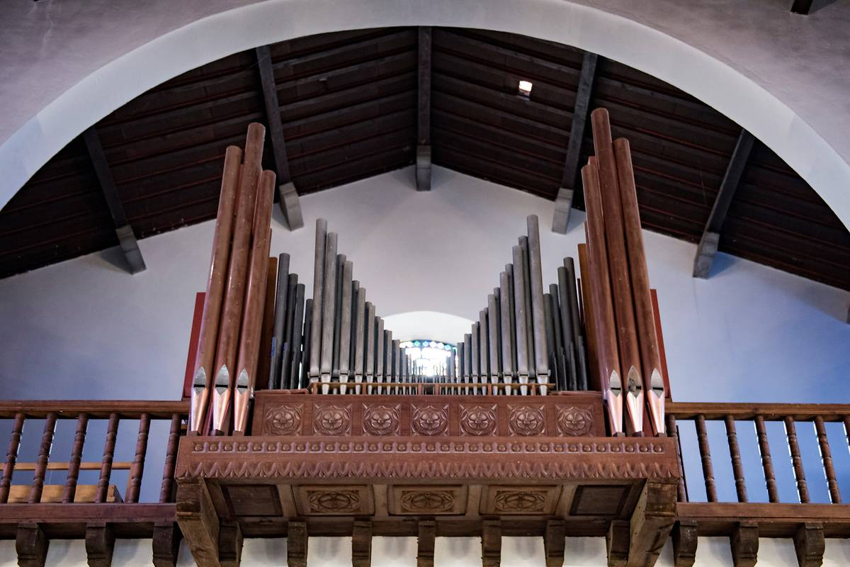 Orgue de l'église Sainte-Anne à Hendaye