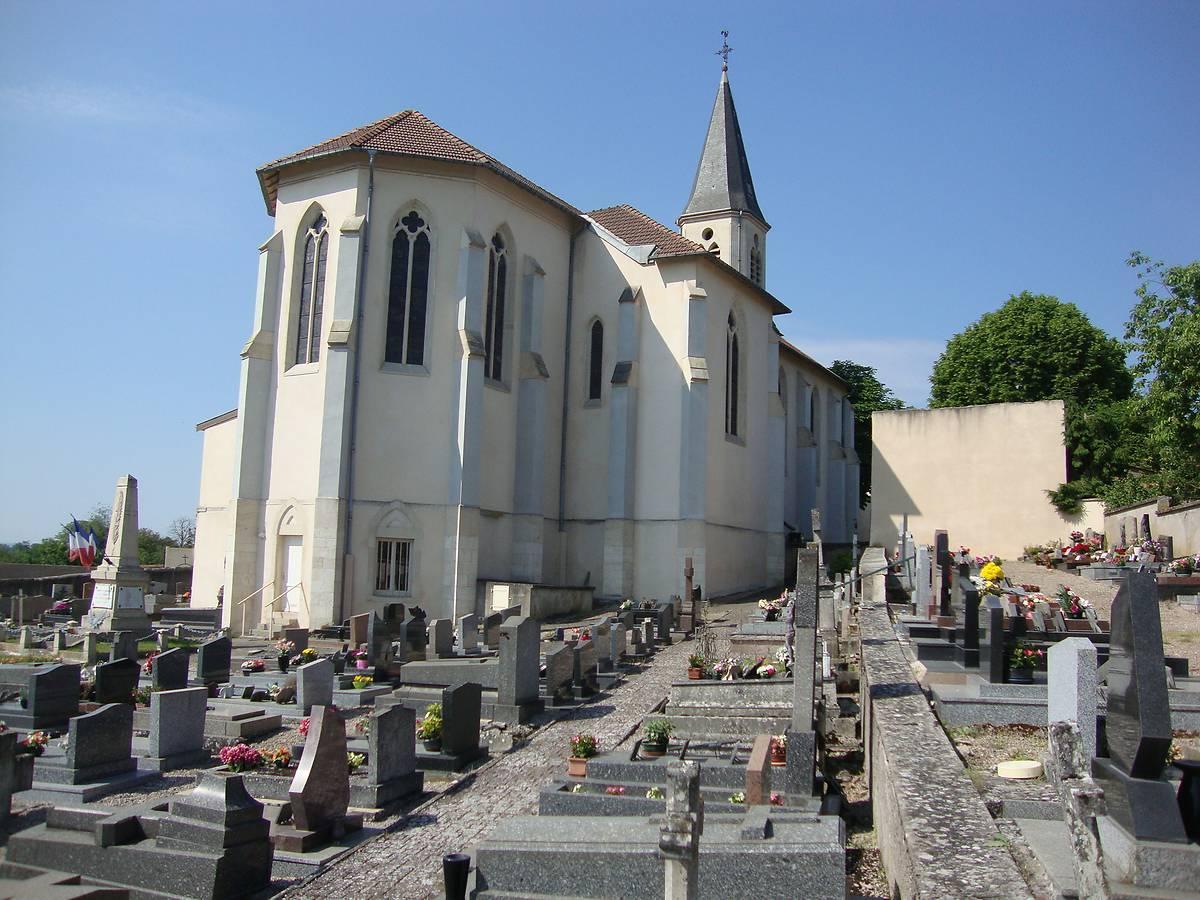 Eglise de Xeuilley