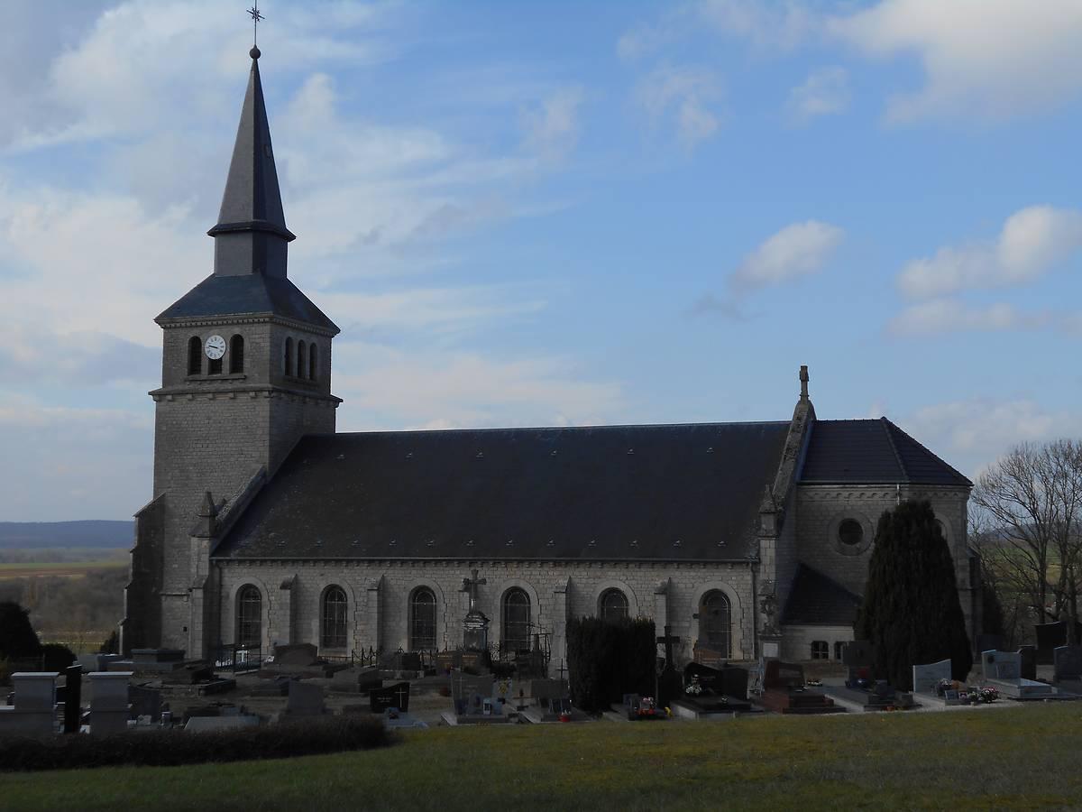 EGLISE ST MARTIN D'AUBREVILLE