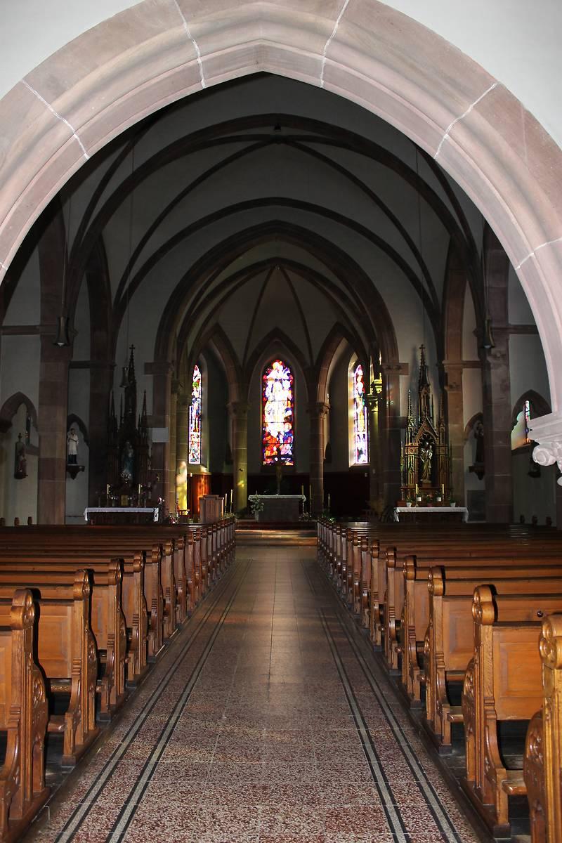 EGLISE CATHOLIQUE DE LEMBACH