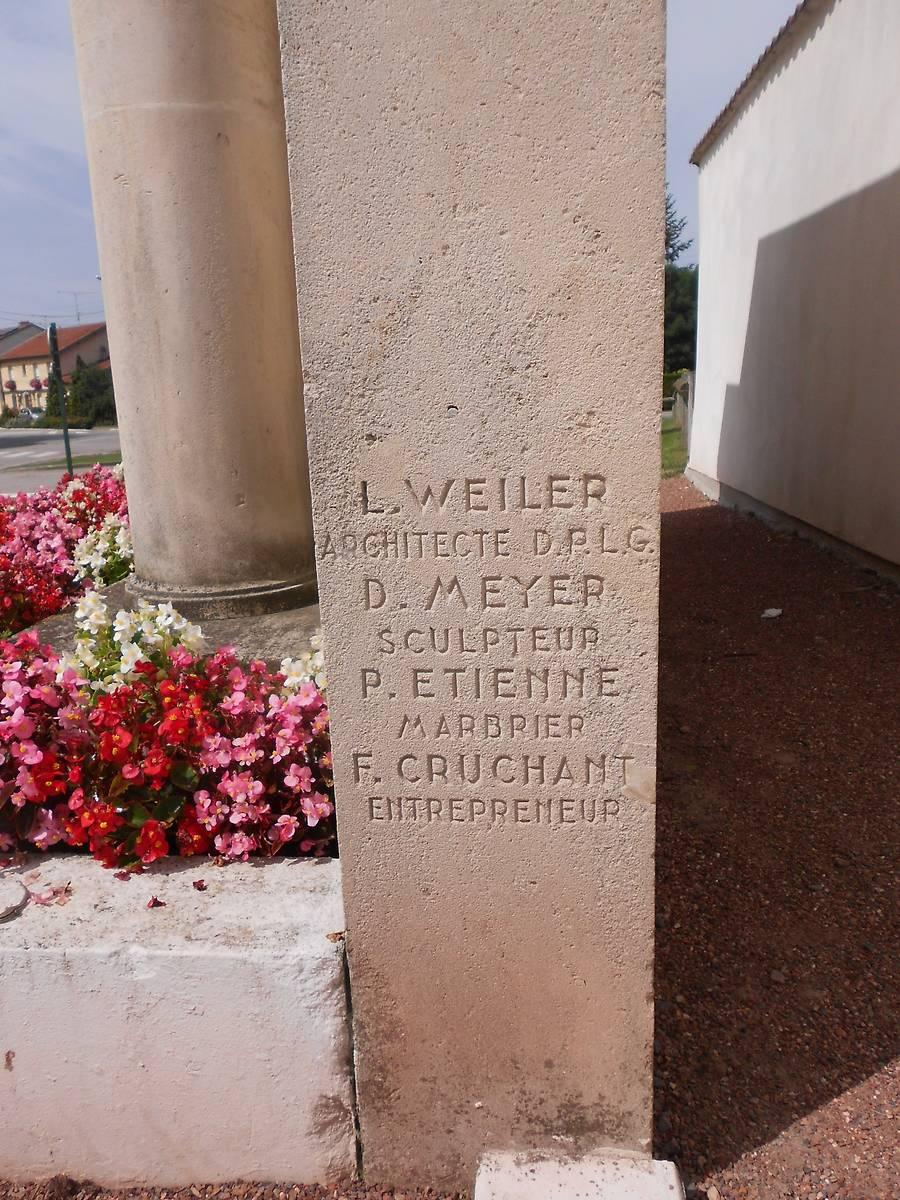 MONUMENT AUX MORTS DE REHAINVILLER