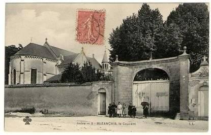 PORTAIL DE L'IMMACULÉE CONCEPTION DE BUZANÇAIS