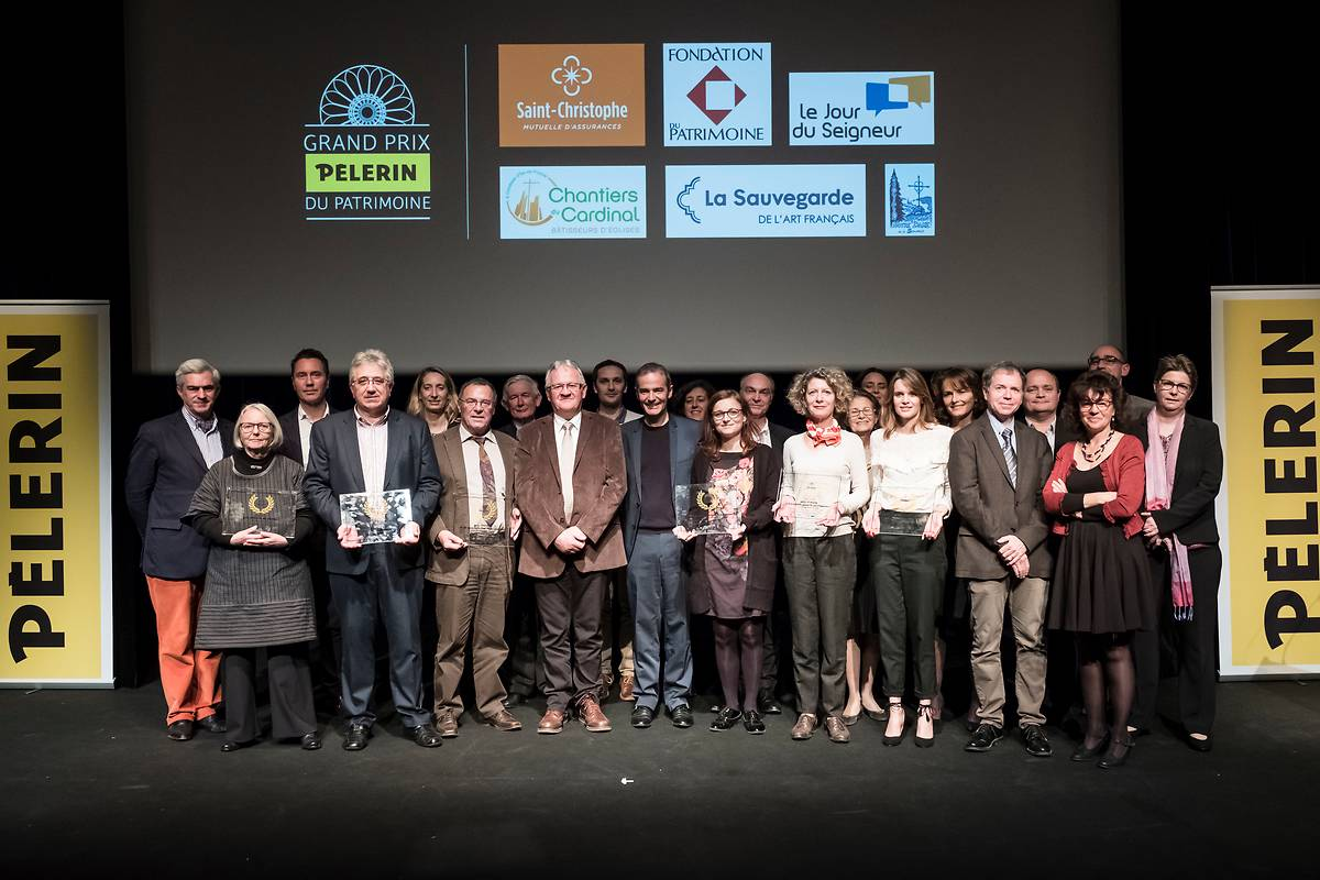 Remise 2017 du Grand Prix Pèlerin du patrimoine