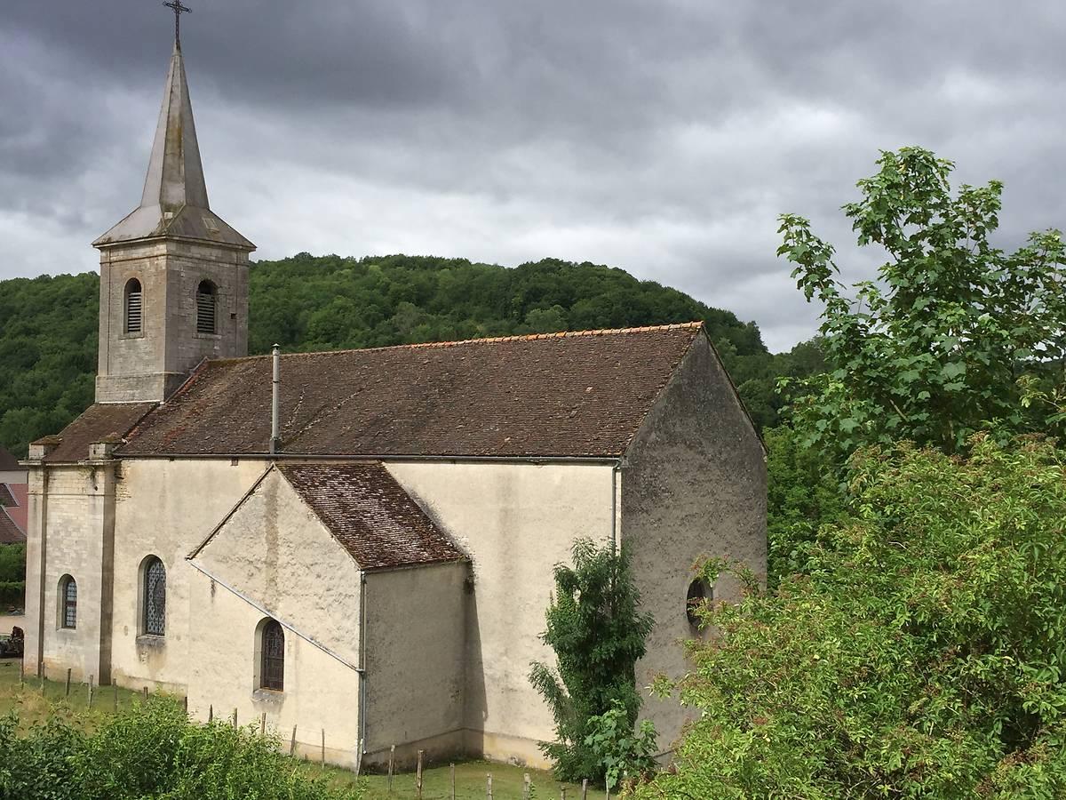 Eglise de Lusigny-sur-Ouche