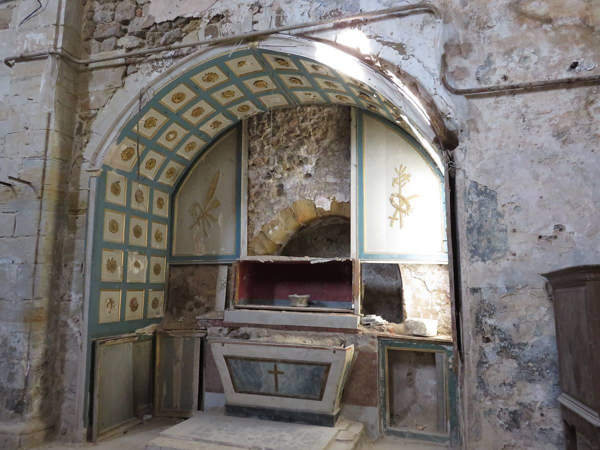 Élévation ouest -Chapelle dédiée à sainte Philomène