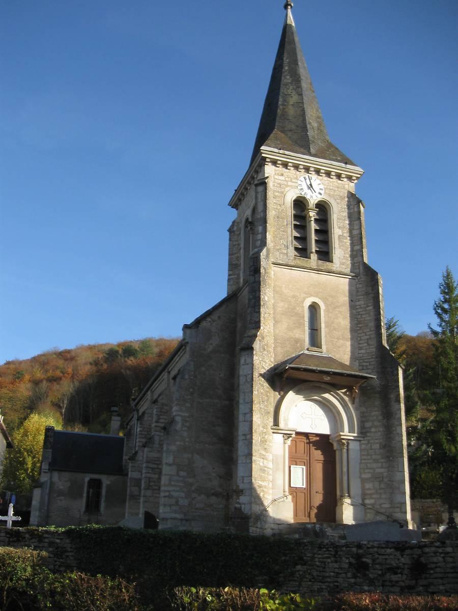 Eglise Saint-Victor-sur-Ouche