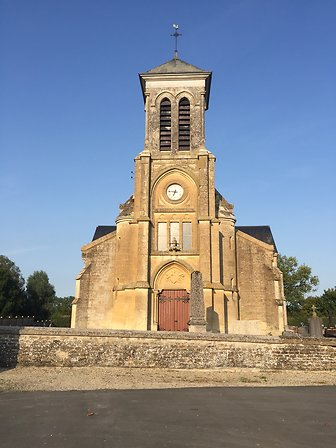 VITRAUX DE L'EGLISE DE COUCY