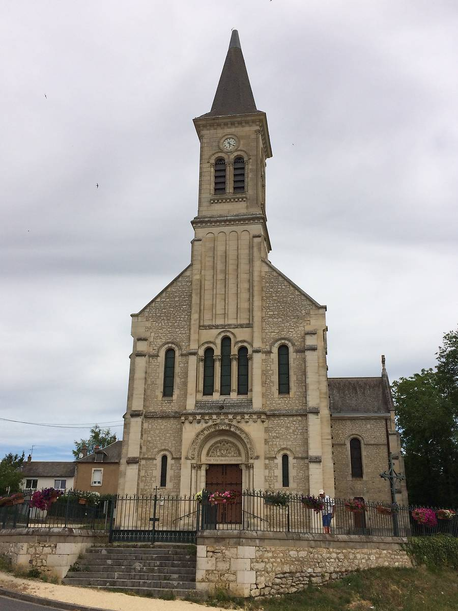 EGLISE SAINT ALBERT DE LUNERY