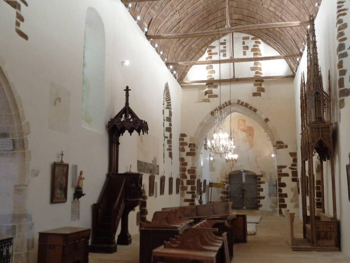 Eglise de Morogues après travaux