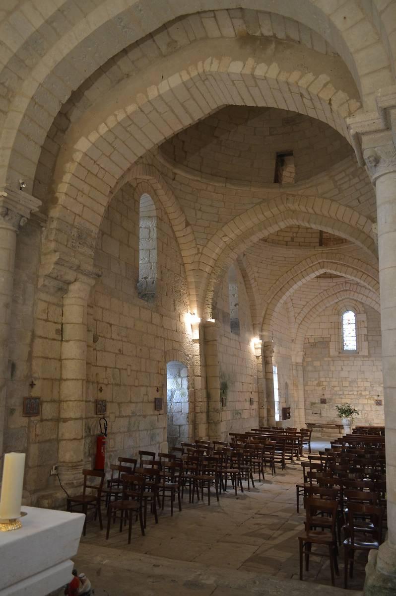 Eglise Saint Martin à Cherval, Dordogne