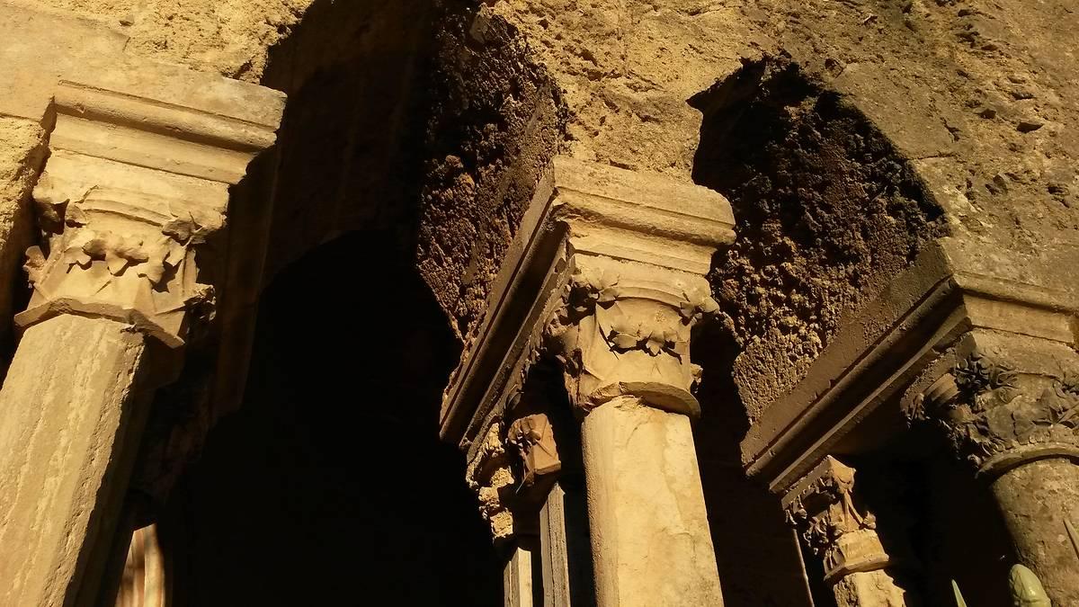 Abbaye de Valmagne chapiteaux