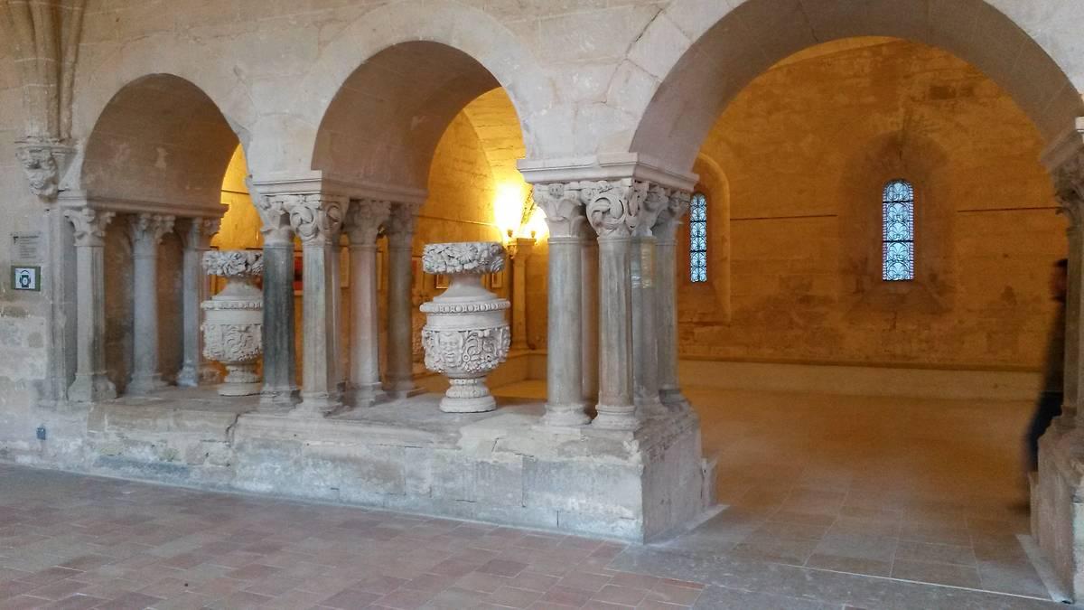 Abbaye de Valmagne salle du chapitre