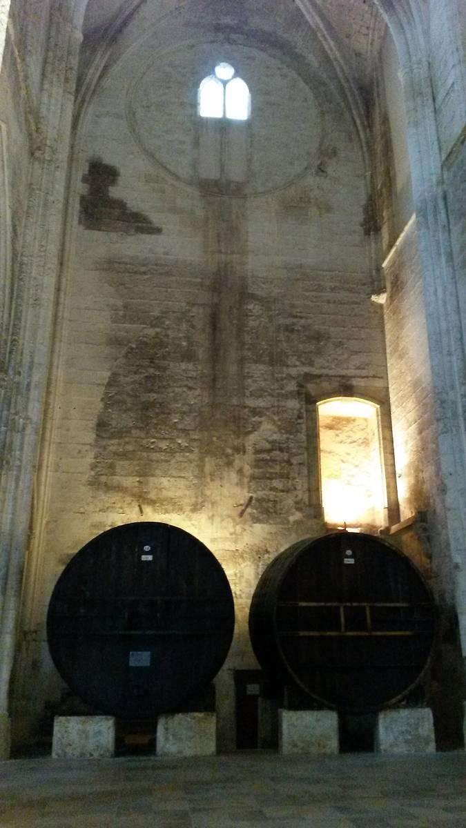 Abbaye de Valmagne foudres