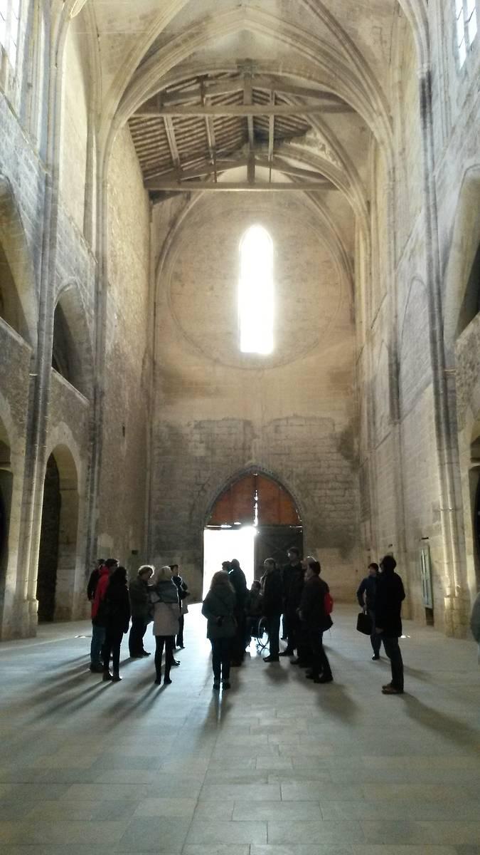 Abbaye de Valmagne intérieur abbatiale