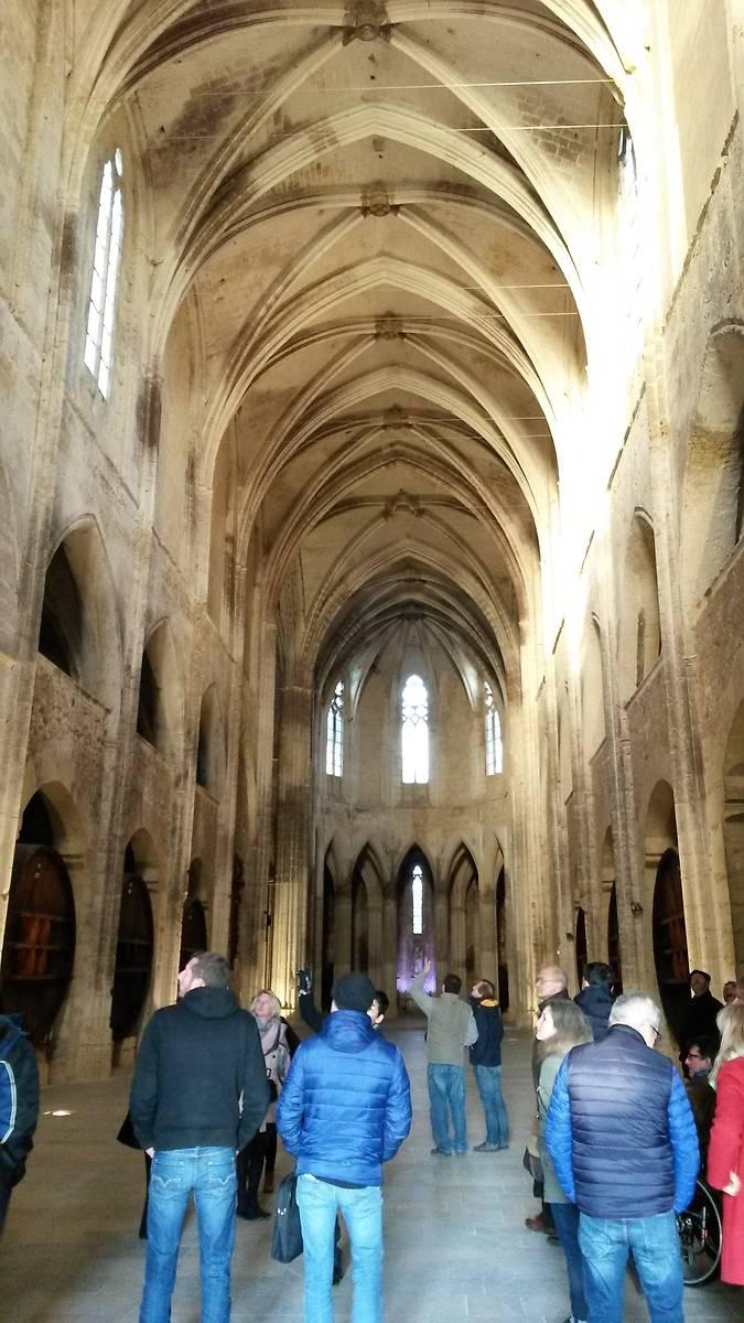 Abbaye de Valmagne intérieur ababatiale