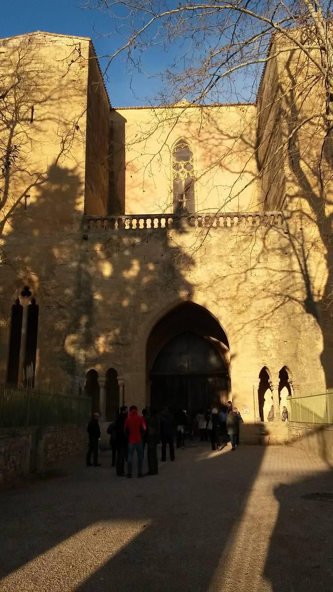 Abbaye de Valmagne porche