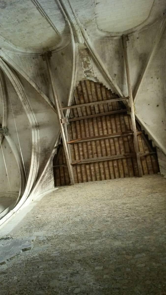 Abbaye de Valmagne voûte abbatiale