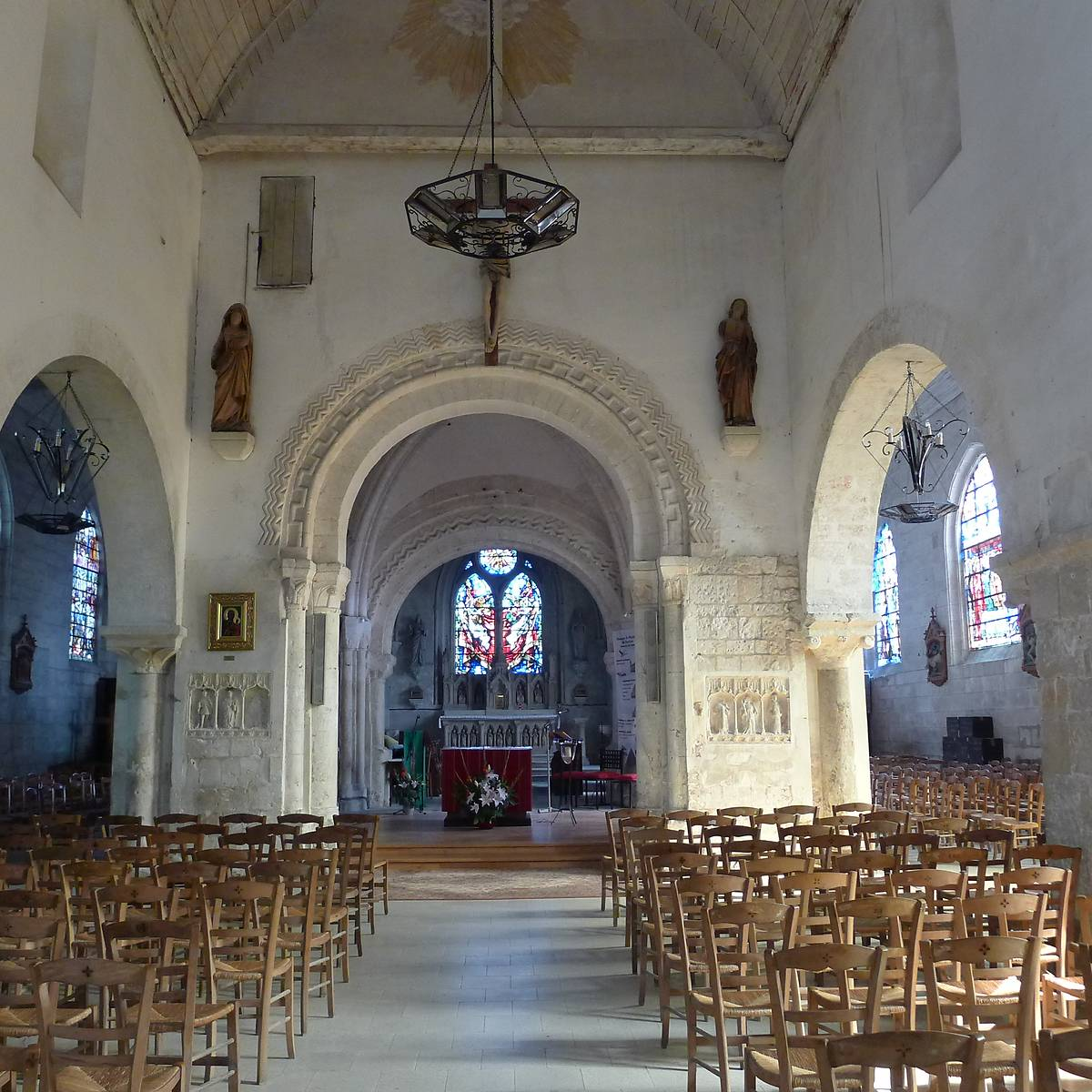 EGLISE SAINT DENIS - DUCLAIR