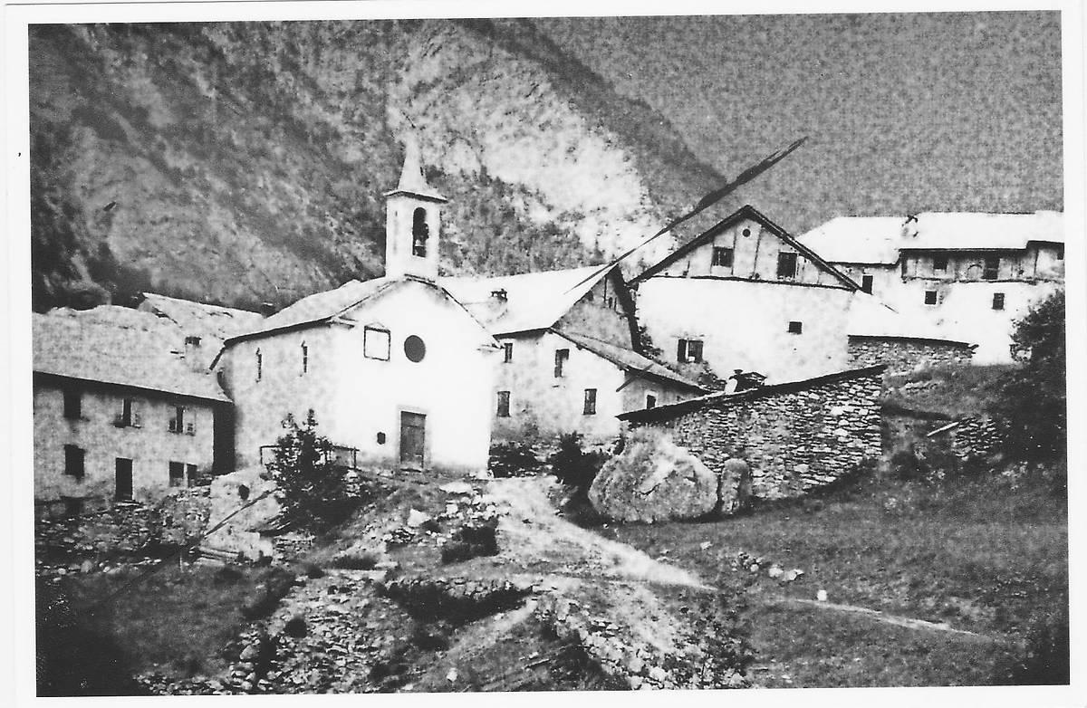 EGLISE SAINT SÉBASTIEN - HAMEAU DE L'UBAC À JAUSIERS