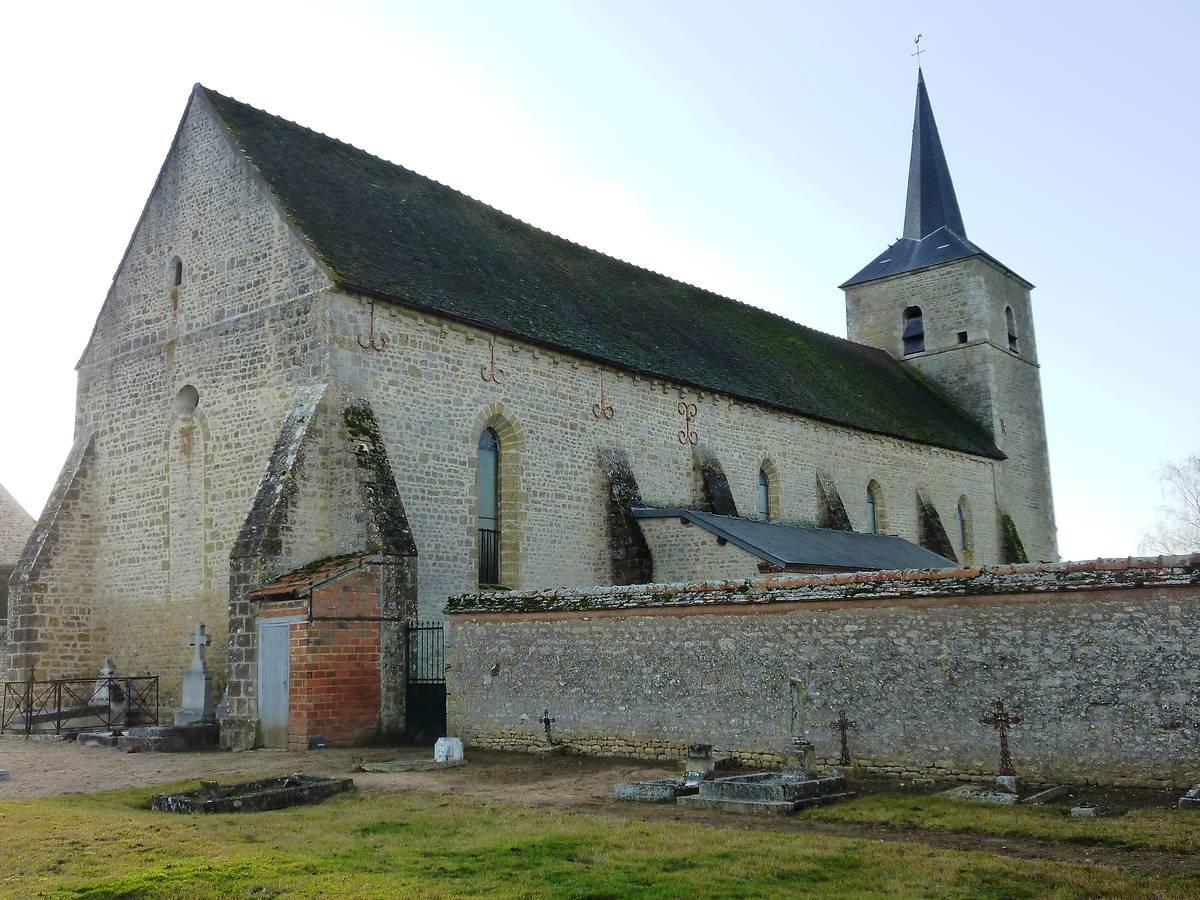 Eglise Saint Denis Sainte Mesme de Dadonville