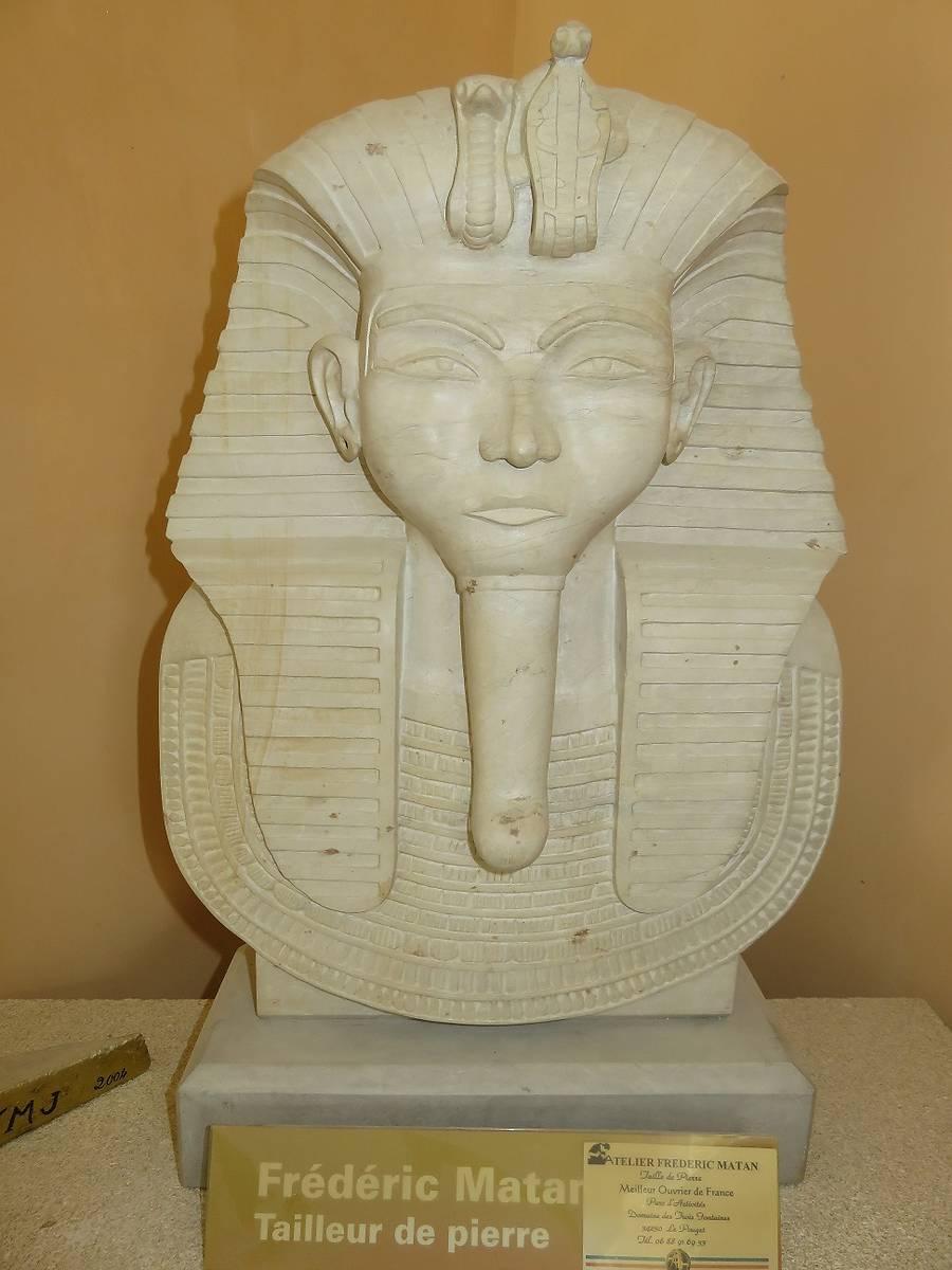 Masque de pharaon par Frédéric Matan