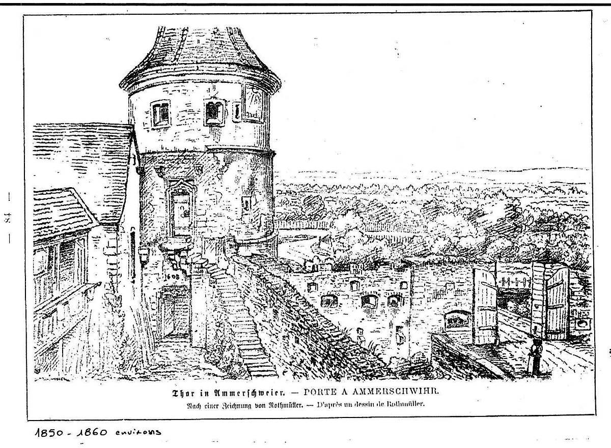 TOUR DES FRIPONS D'AMMERSCHWIHR