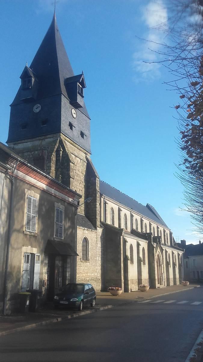 Eglise Notre-Dame d'Aschères le Marché