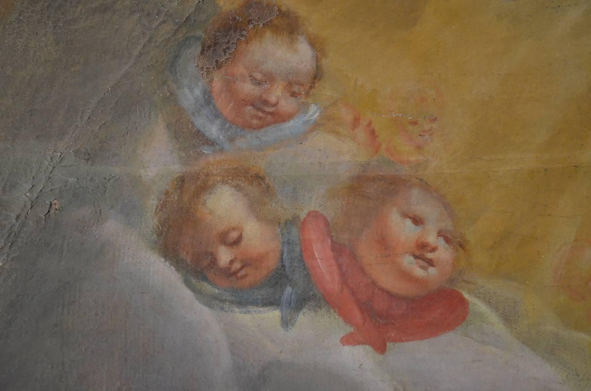 TABLEAUX DE L'EGLISE SAINT JEAN BAPTISTE A PIERRELATTE