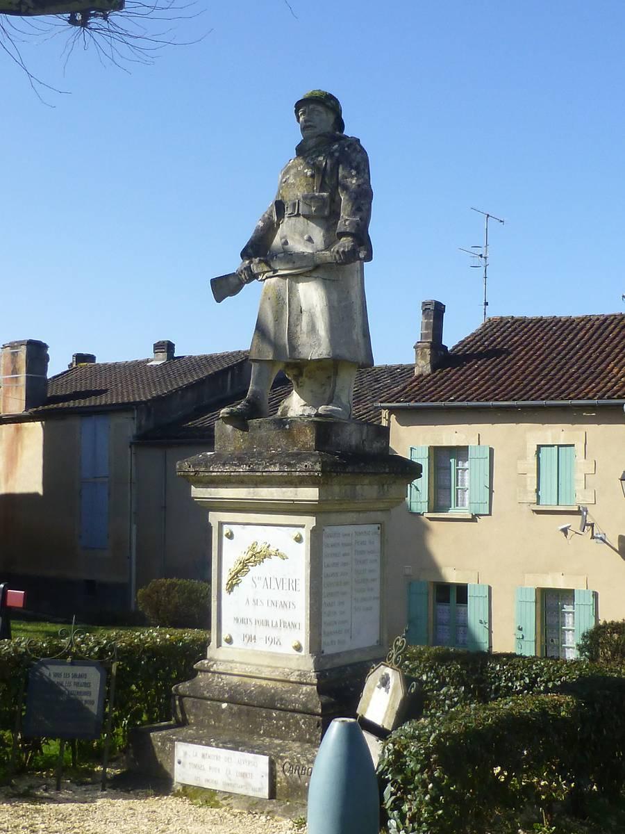 monument aux morts de Sainte-Alvere