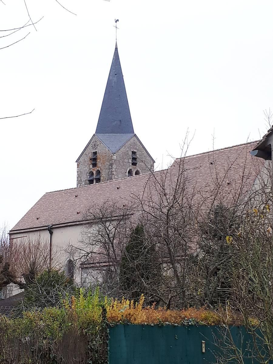 CLOCHE DE L'ÉGLISE D'AUGERVILLE LA RIVIÈRE