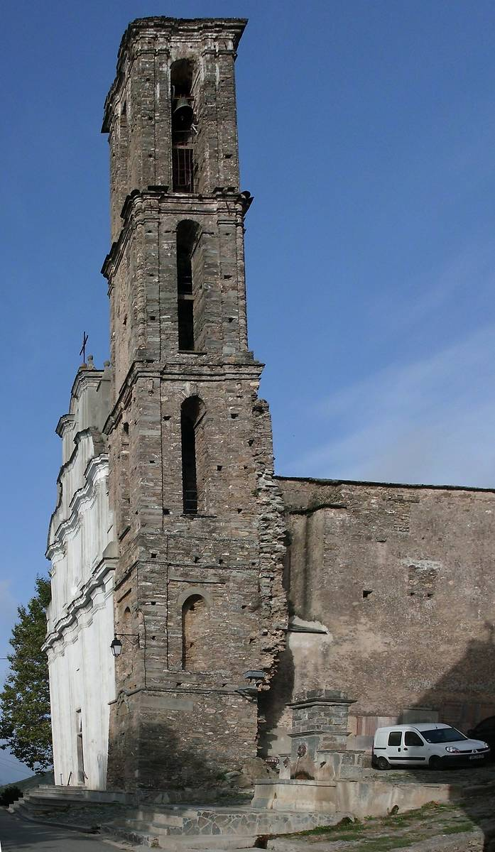 RESTAURATION DE L'EGLISE DE PIEDICORTE