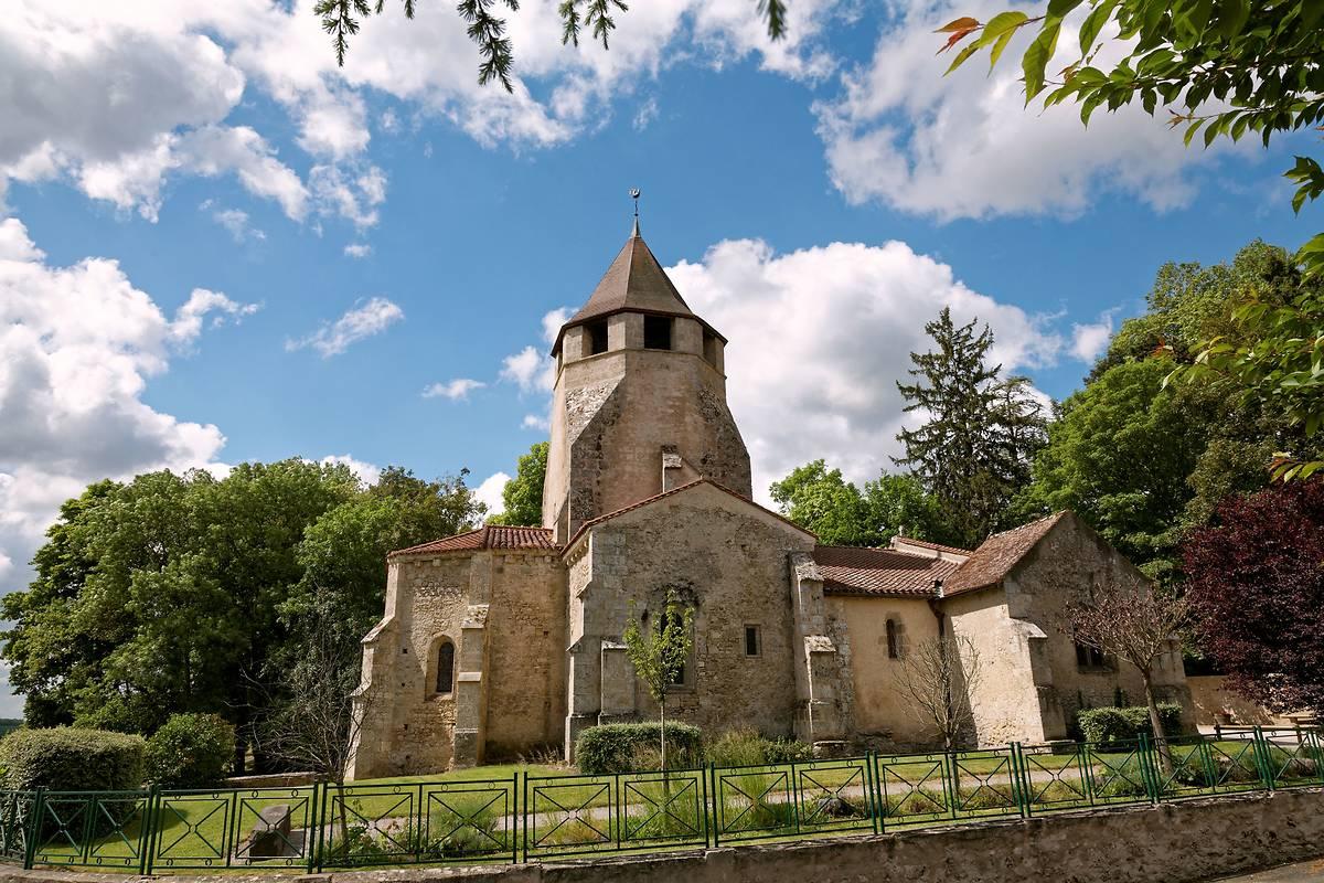 EGLISE ST-POURCAIN DE LOUCHY-MONTFAND
