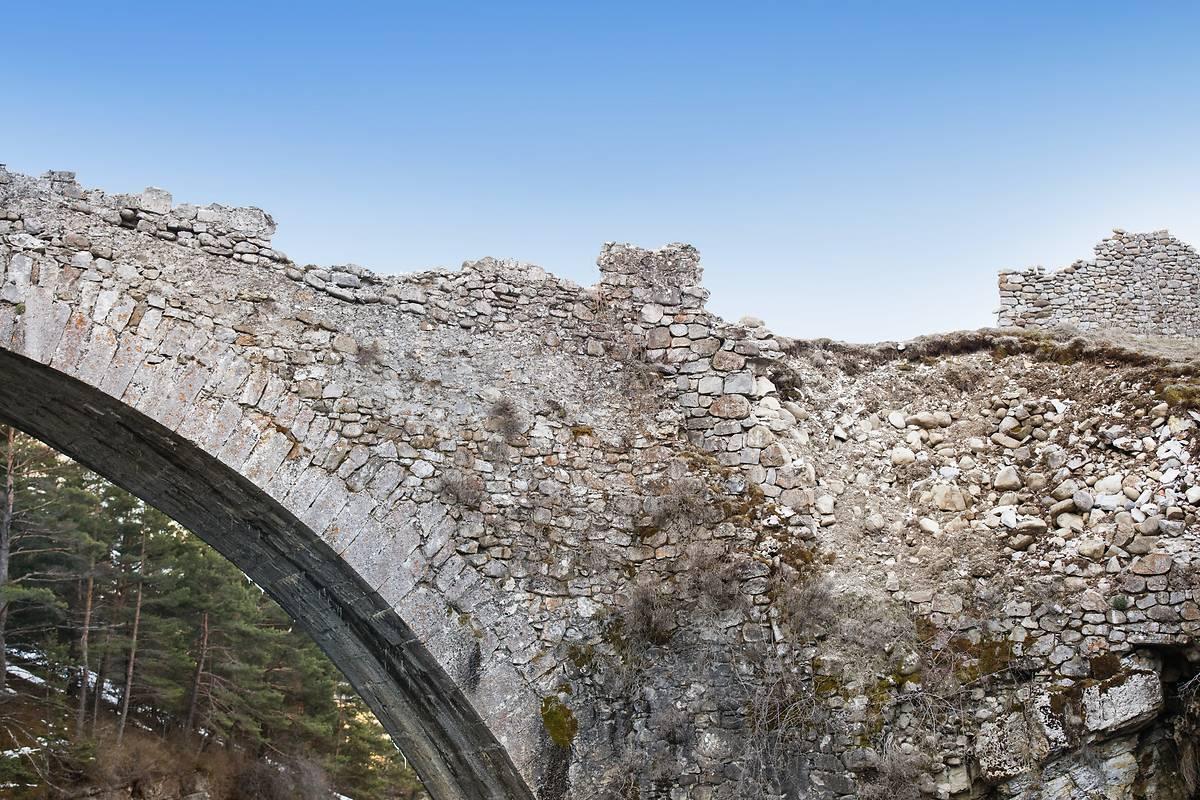 PONT DU MOULIN-ANCIEN PONT D'ONDRES A THORAME HAUTE