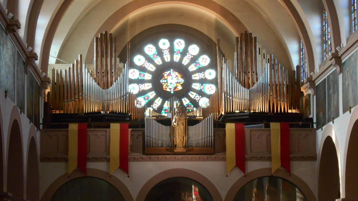 orgue Schenkedel de la Basilique de Lutterbach