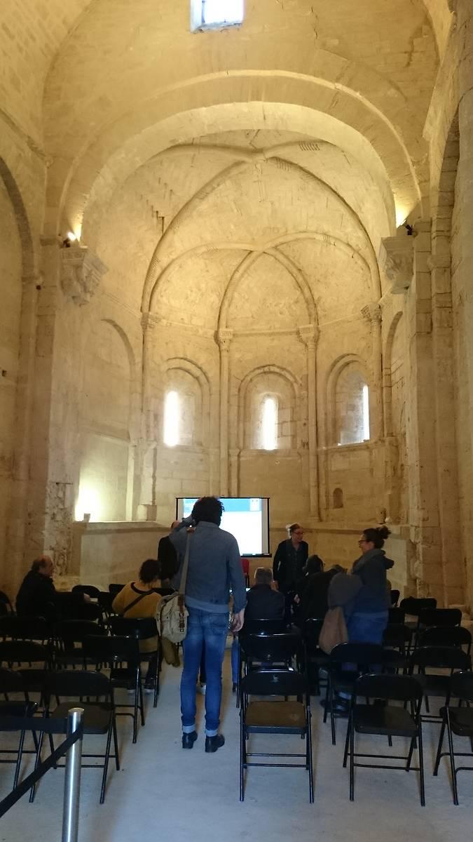 Conférence archéologique dans la chapelle Saint-Hippolyte