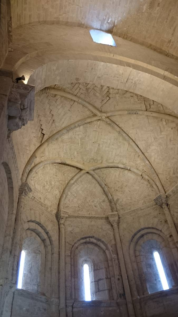 Détail de la voûte du chœur de la chapelle Saint-Hippolyte