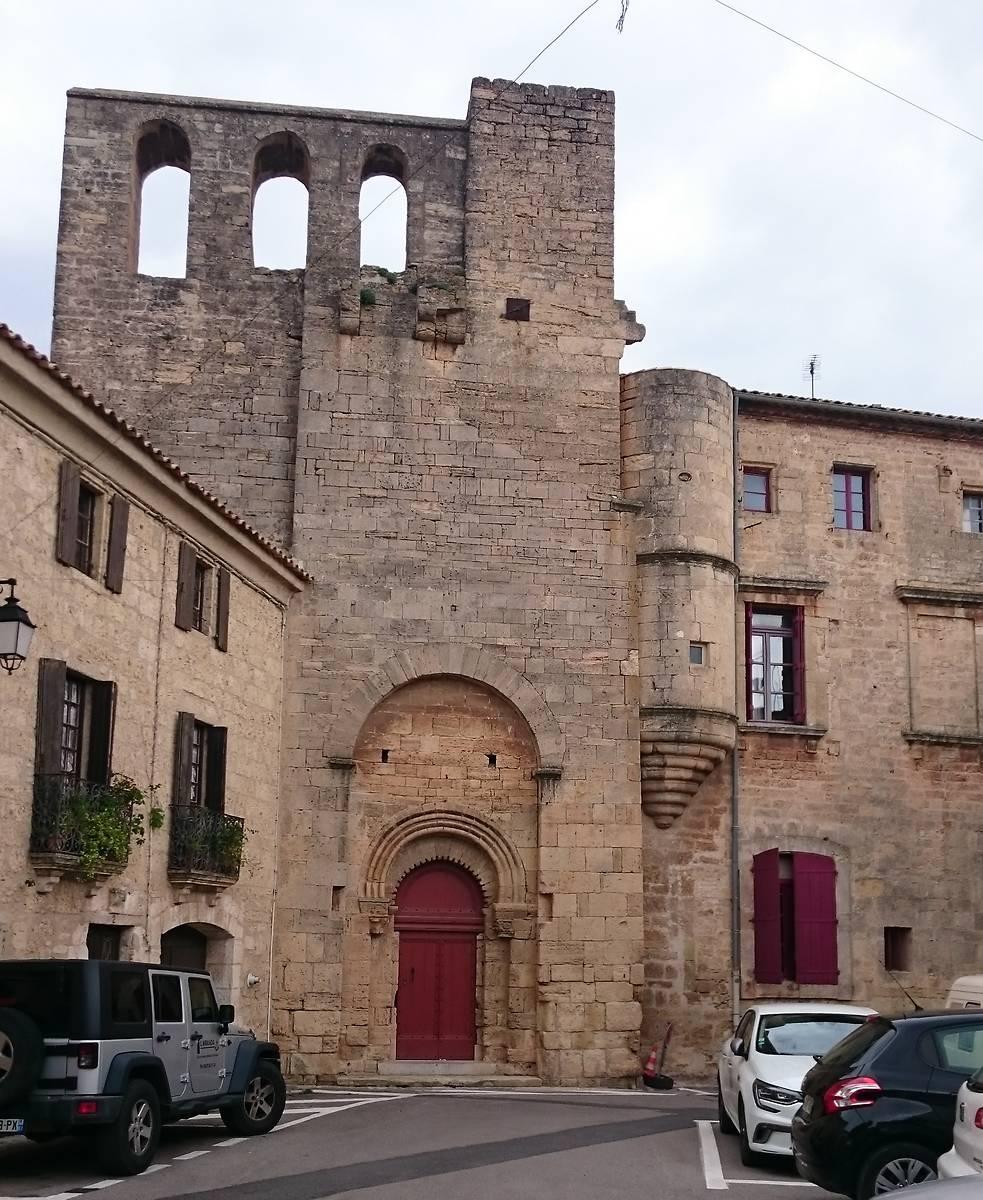 Entrée de la chapelle Saint-Hippolyte