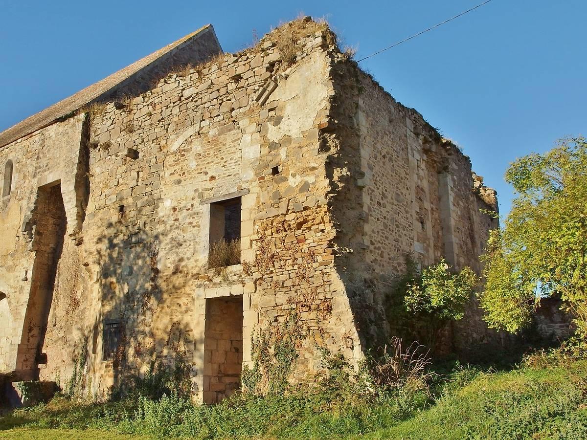 ABBAYE DE SAINT ANDRÉ EN GOUFFERN - LA HOGUETTE