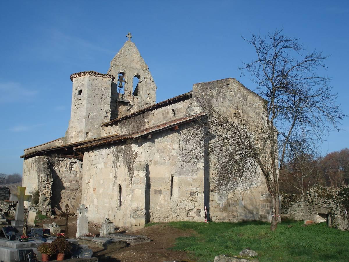 Eglise Saint-Simon à Saint-Pé Saint-Simon