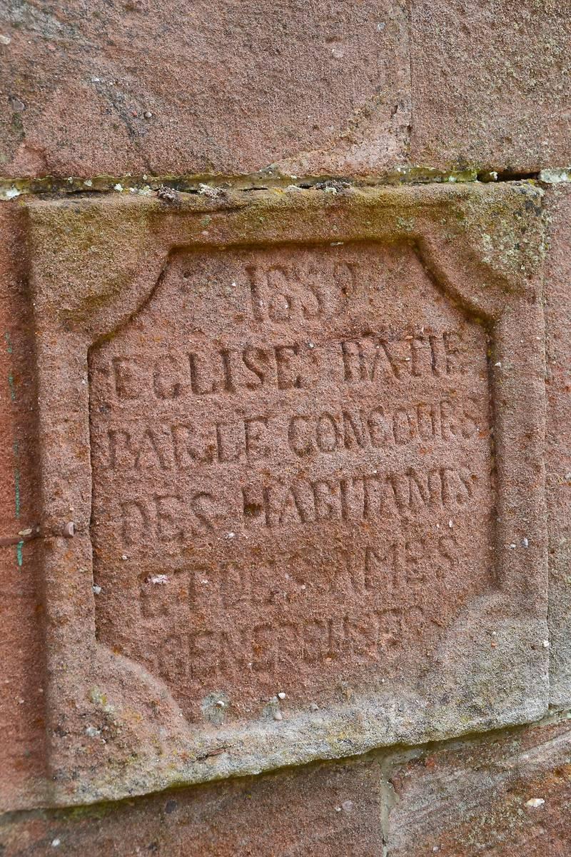 EGLISE ST MANSUY DE RAON SUR PLAINE