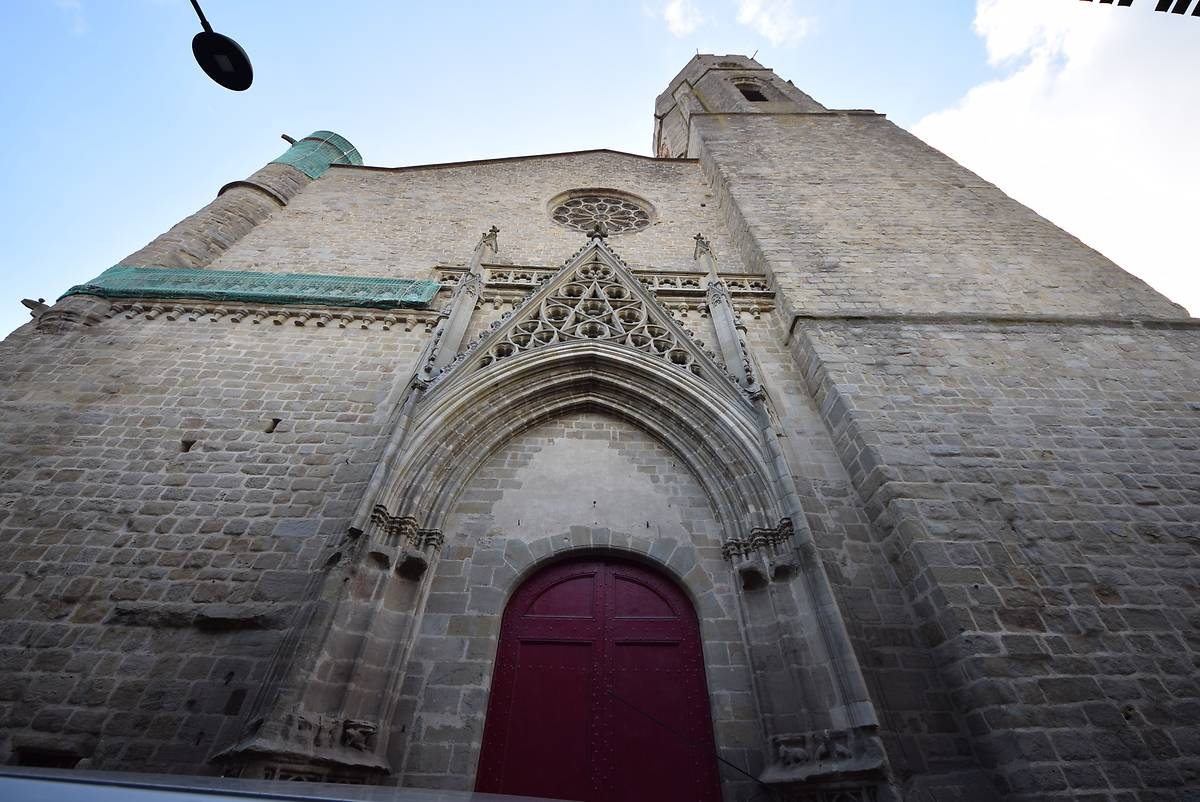 EGLISE SAINT VINCENT DE CARCASSONNE AVANT TRAVAUX