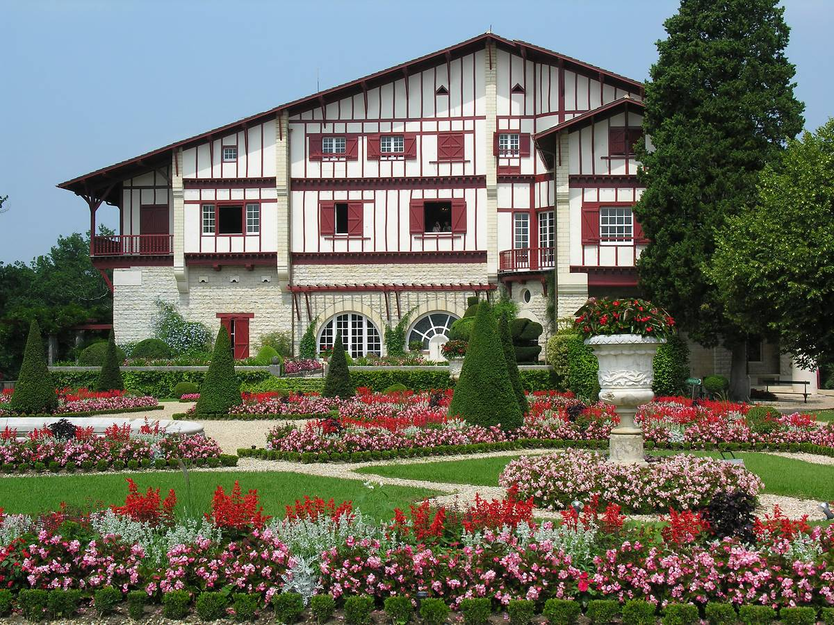 Villa Arnaga à Cambo-les-Bains, Pyrénées-Atlantiques