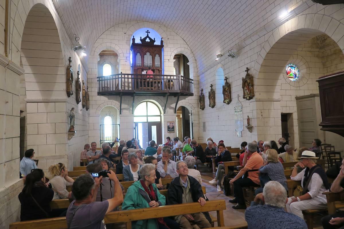 L'église de Saint-Georges et son orgue restauré